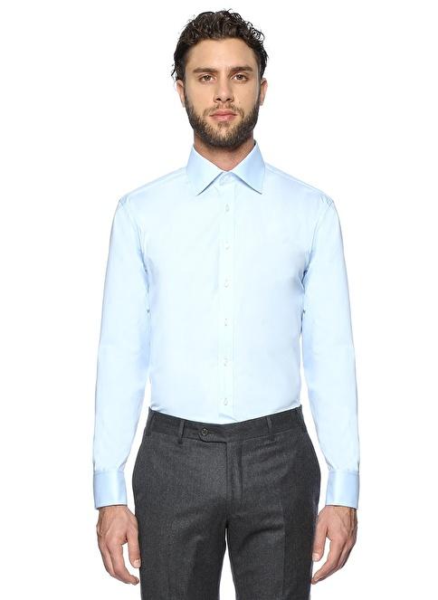 Thomas Klasik Gömlek Mavi